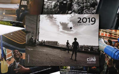 calendrier 2019 pour le CIRÉ asbl